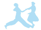 Danse de couples, valse, rock, swing